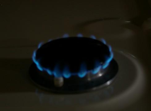 Simmer flame after adjustment