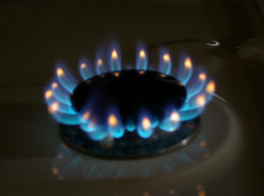 Simmer flame before adjustment